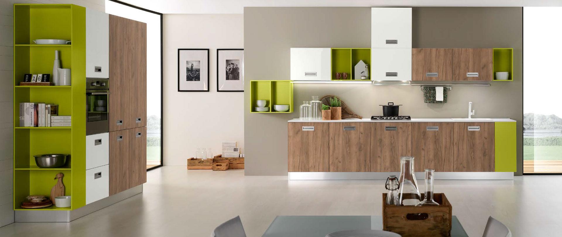 Nevada cucina moderna mobilturi arredi 2000 - Cucine di piccole dimensioni ...