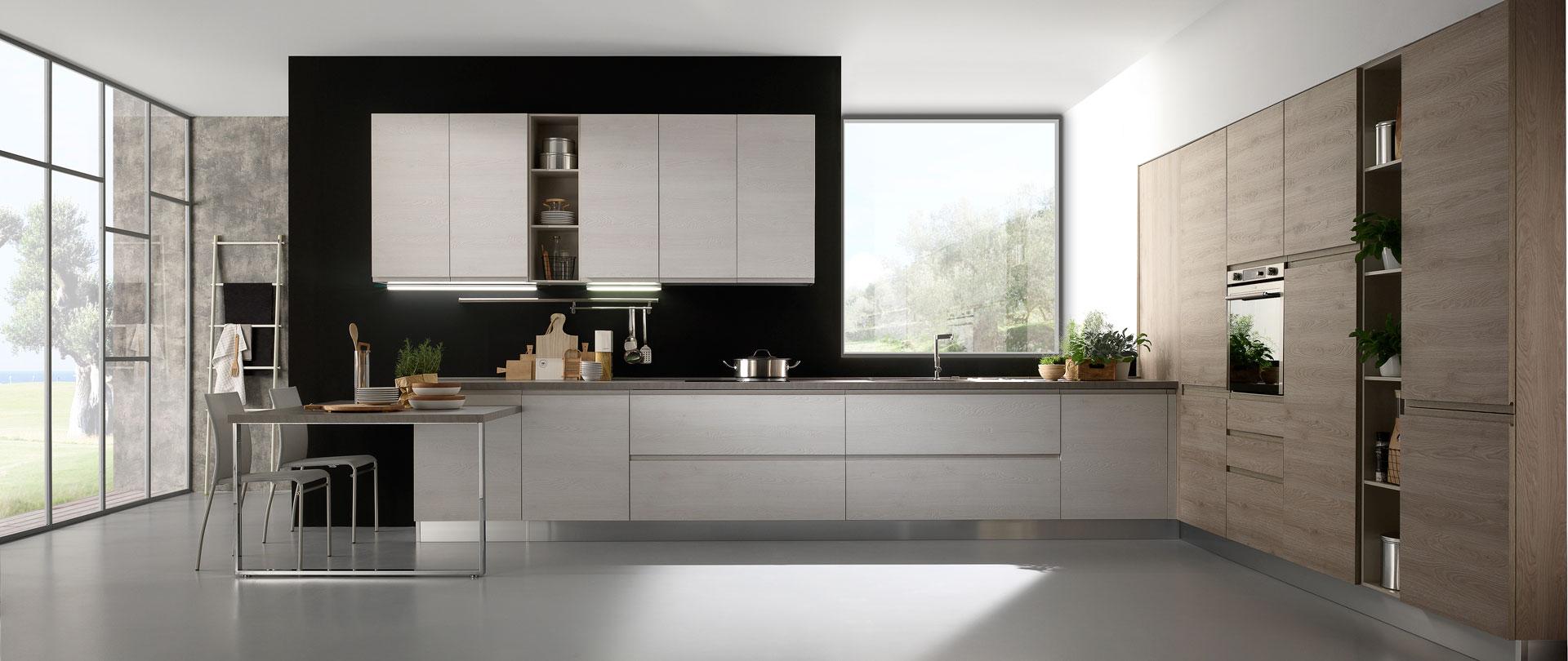 Cucine Componibili Con Angolo luna - cucina moderna mobilturi - arredi 2000