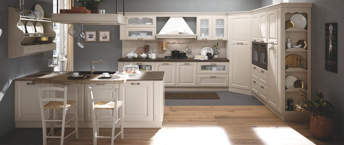 Arredo cucina con isola vantaggi e svantaggi - Arredo cucina classica ...