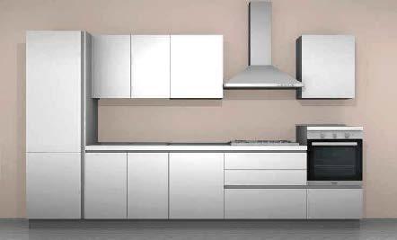 Cucina Moderna con 5 elettrodomestici Cagliari