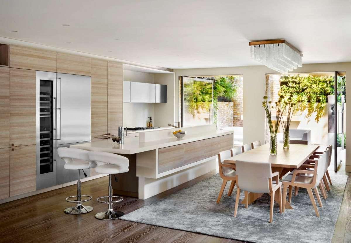 Cucina soggiorno open space tutto in un ambiente - Divisorio cucina soggiorno ...
